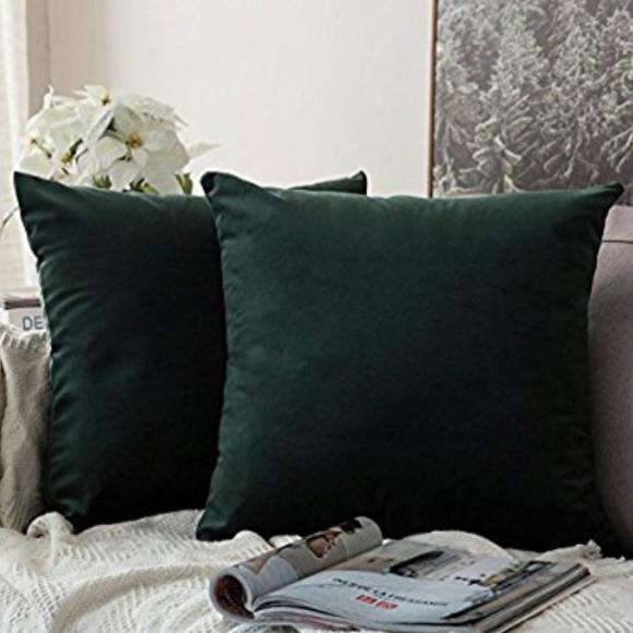Hm Other Faux Velvet Hm Pillow Covers Poshmark